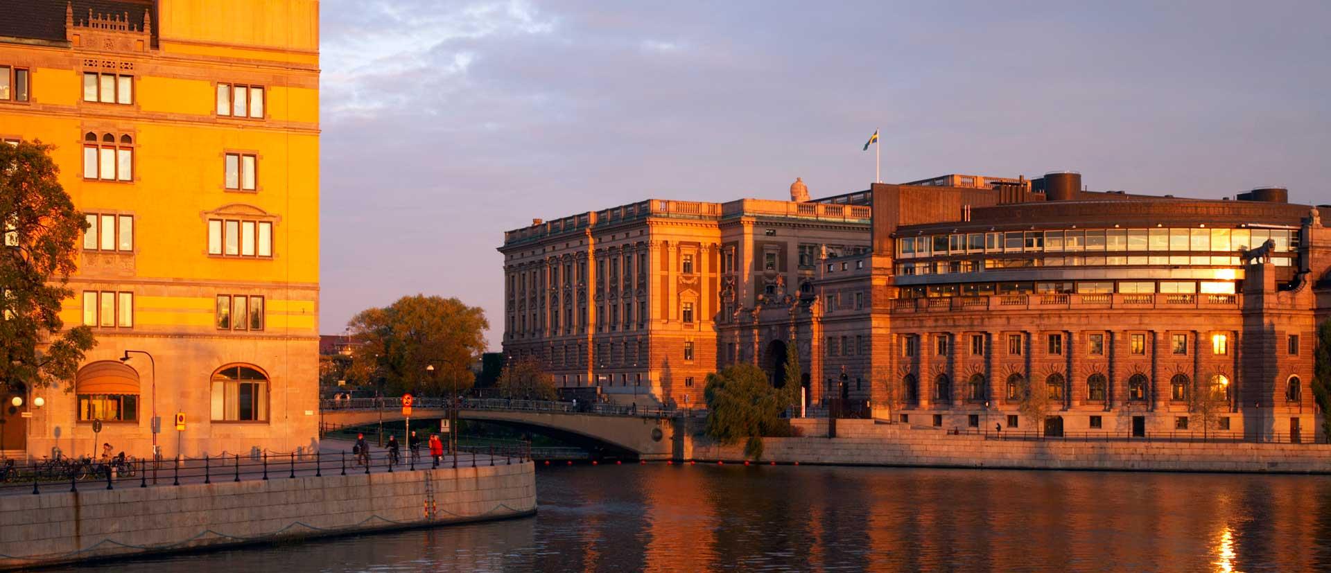 The Swedish Parliament House